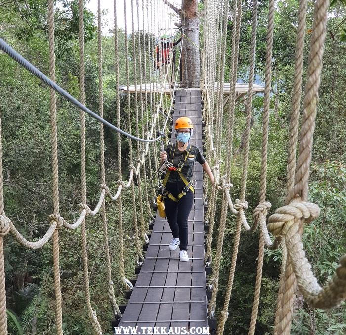 Penang Hill Suspended Rope Bridge