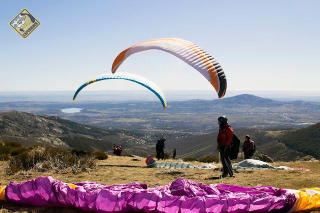 Vuelo Parapente en Miraflores de la Sierra