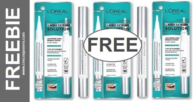 FREE L'Oreal Lash Serum Solution at CVS