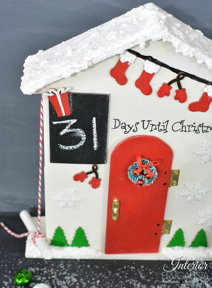 Christmas Countdown Wooden Advent Calendar