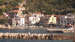 The fishing village of Marina di Puolo gave me the idea for my novel, The Shooting in Sorrento
