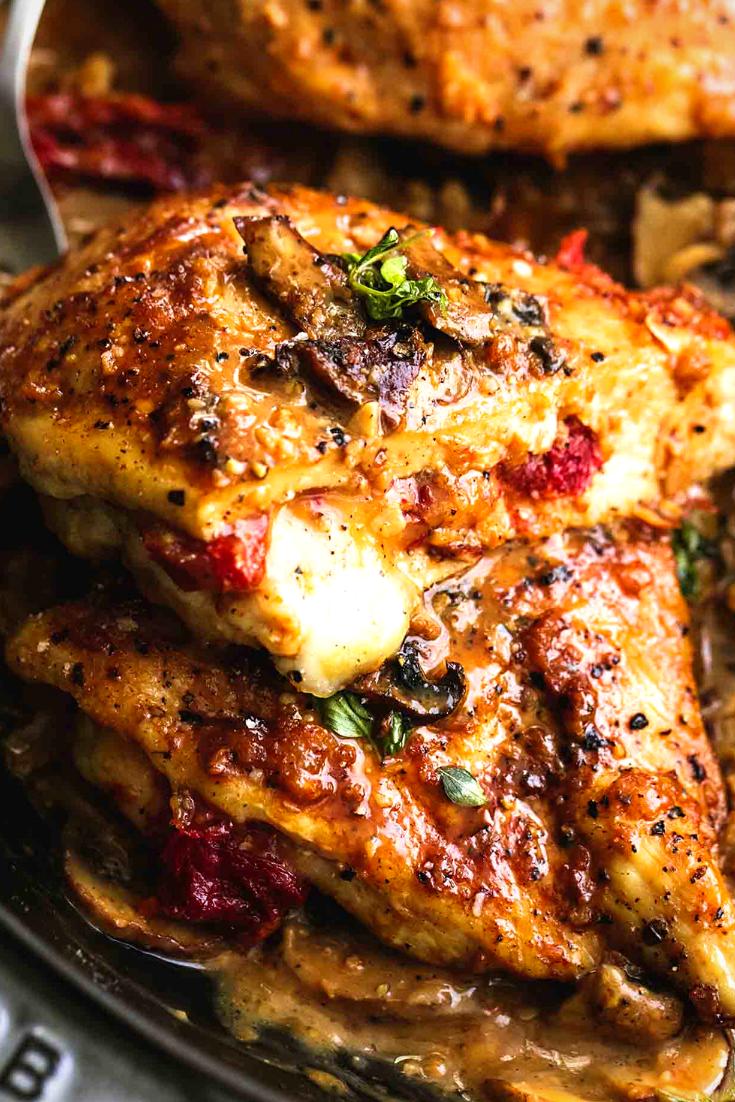 Best Stuffed Chicken Marsala