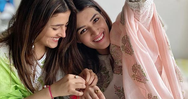 nupur sanon kriti sanon rakshabandhan bollywood sisters