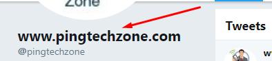 twitter profile backlink