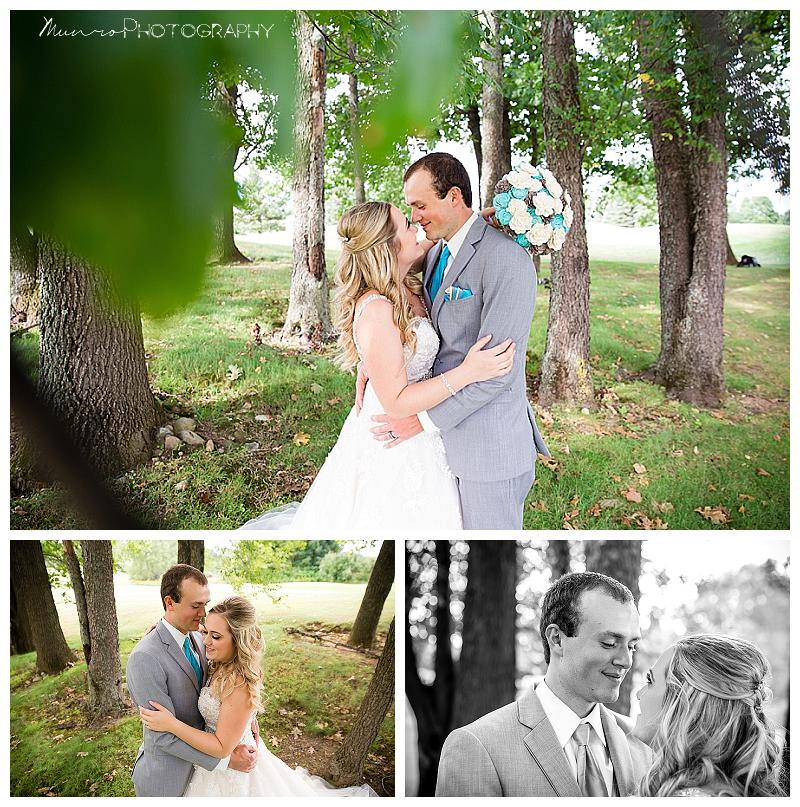 bride, groom, bridal portraits, romantic, country wedding, medalist, michigan