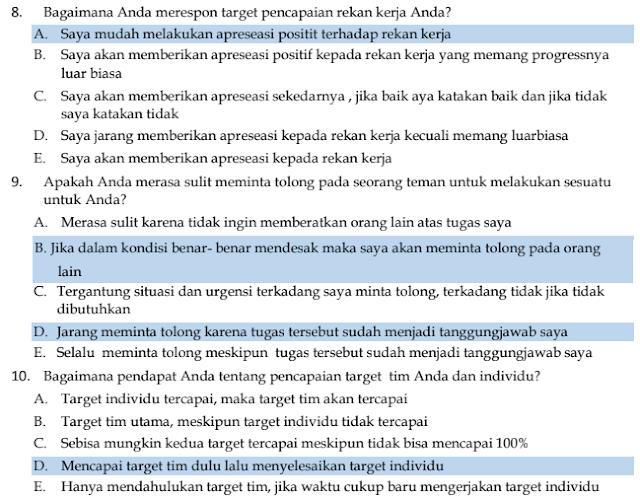 40+ Soal dan Kunci Jawaban  Ujian PPPK Kemampuan Manajerial  Tahun 2021