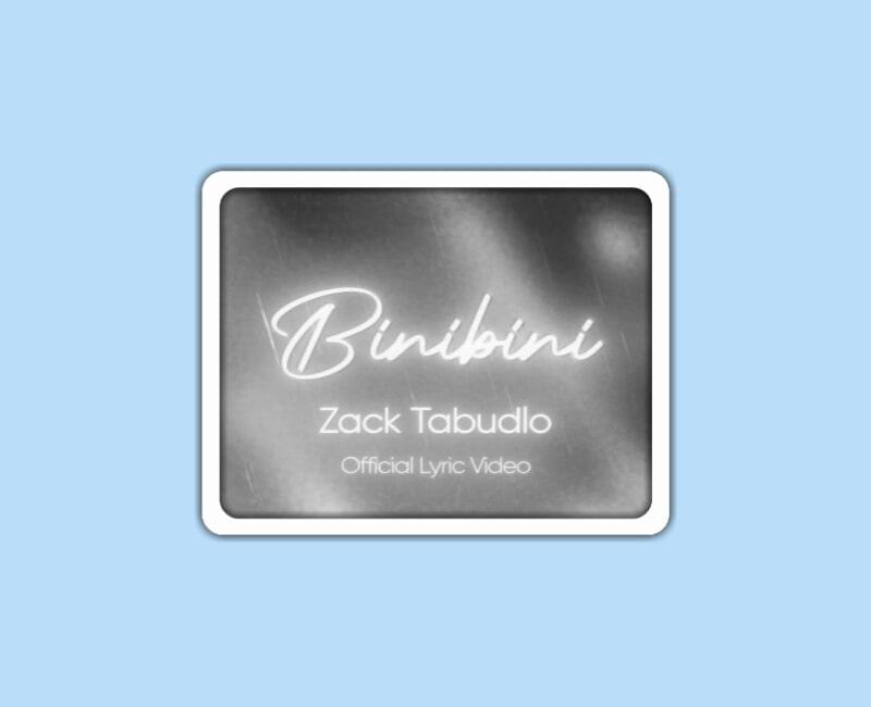 Zack Tabudlo – Binibini Lyrics