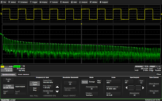 Spectrum analysis software provides a user interface familiar to users of traditional spectrum analyzers