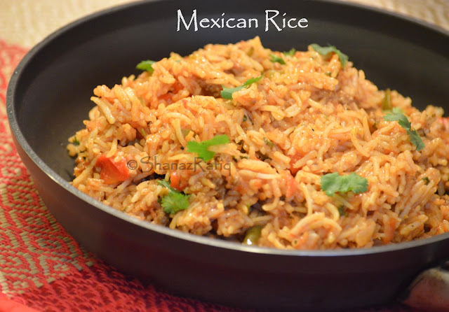 Meat Mexican Rice