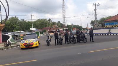 Ops Lilin Krakatau 2019,  Satgas Preventif Polres Way Kanan Tingkatkan Patroli