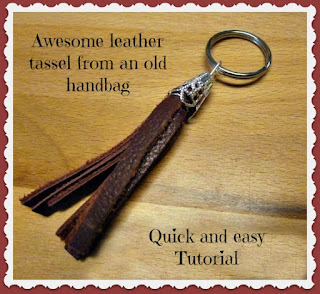 awesome leather tassel