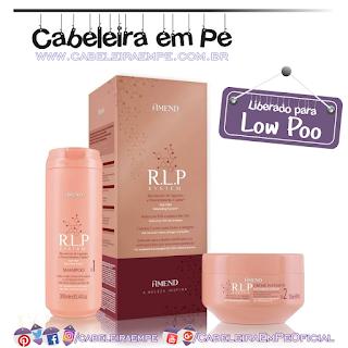 Shampoo e Creme Intensivo R.L.P. System - Amend (Low Poo)
