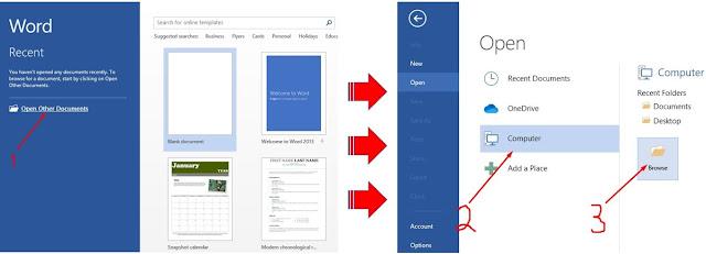 cara mengubah pdf ke word pakai ms word 2013