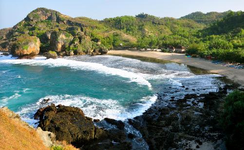 Wisata Pantai Siung Jogja