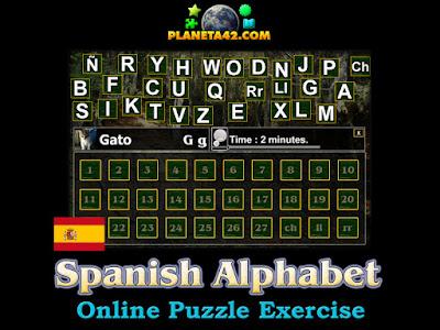 Испанска Азбука Пъзел