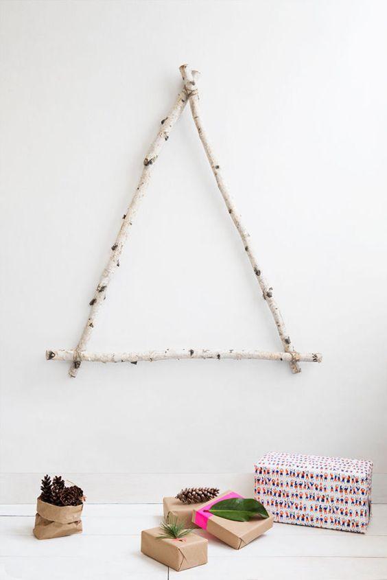 Ideas para hacer un Árbol de Navidad tú mismo