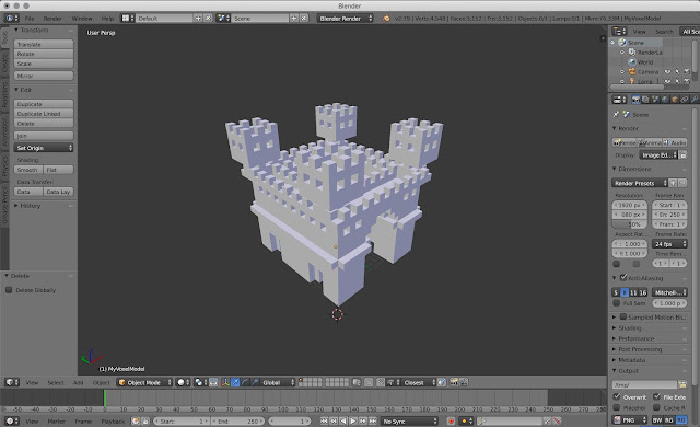 Tutorial on Importing MagicaVoxel to Blender