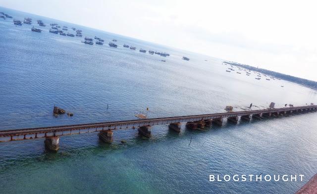 railway bridge to rameswaram