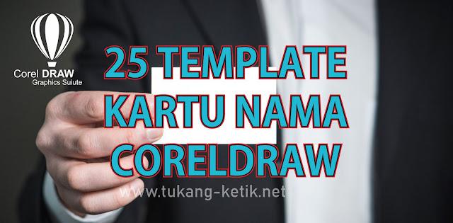 template kartu nama cdr