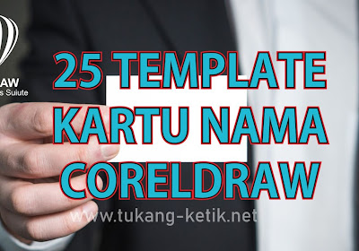 25 Template Kartu Nama Format CorelDRAW | Desain Simpel dan Profesional