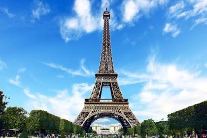 Kunjungan Turis ke Menara Eiffel Turun Hingga 80 Persen