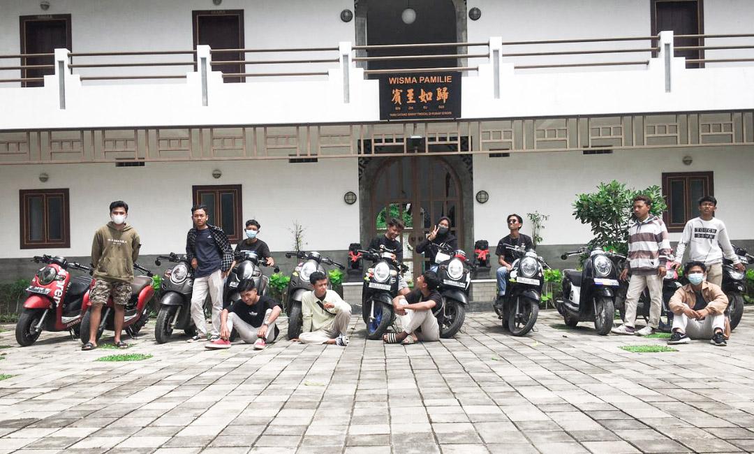 Komunitas Scoopy Rembang Bernama SCOOPRS REMBANG