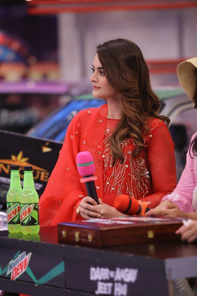Minal Khan and Arij Fatima