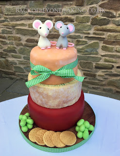 cheese and biscuit wedding cake