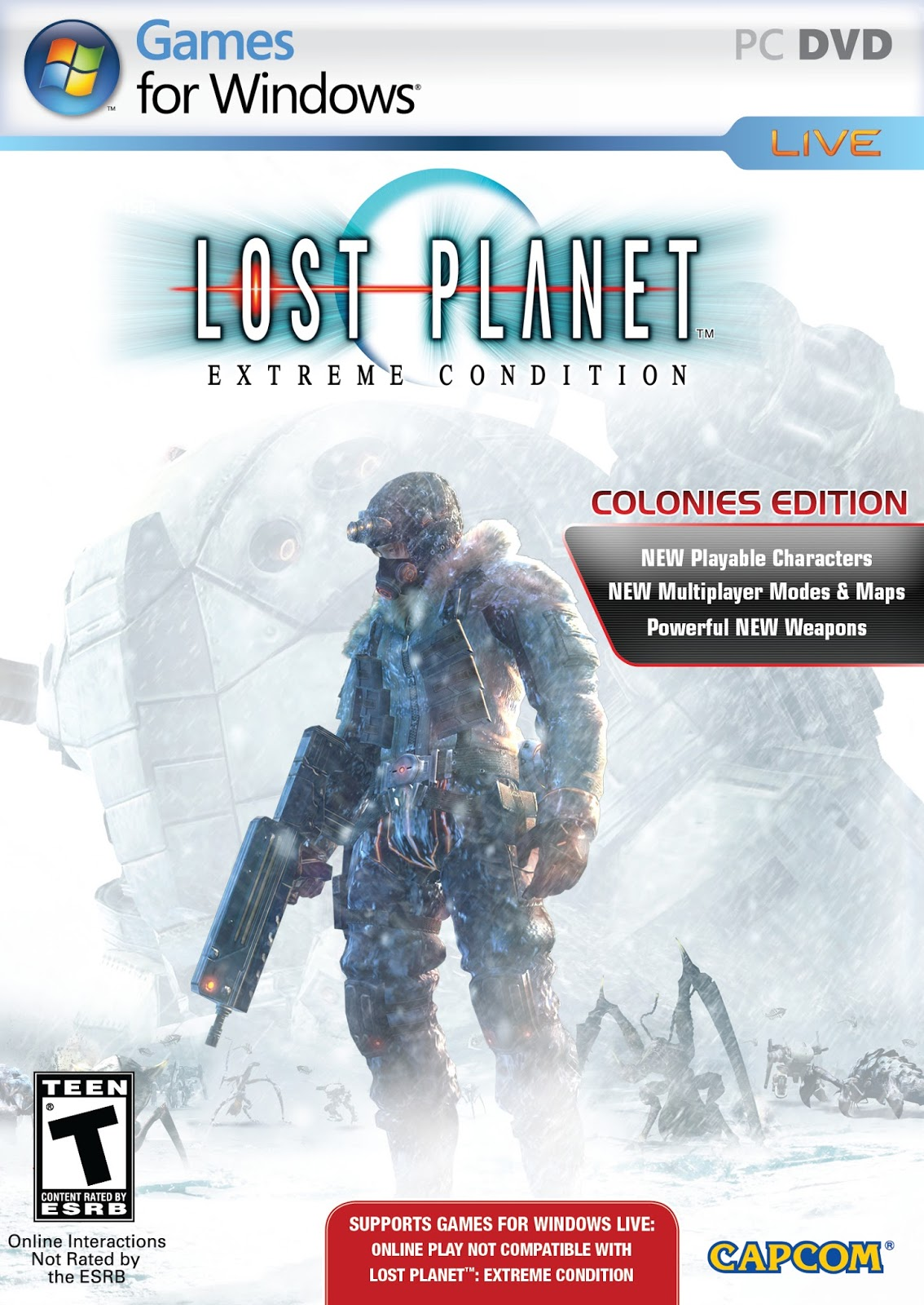 Lost planet extreme condition 2017 pc cheats xbox 360