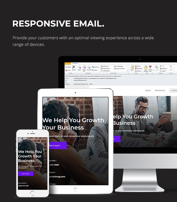 Download Responsive Email Template for E-commerce Purposes