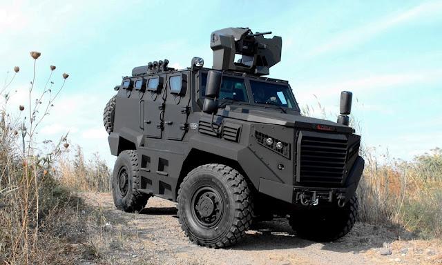 Ξεπούλησε το στρατιωτικό όχημα του Ερντογάν