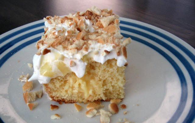 Banana Pudding Poke Cake by freshfromthe.com