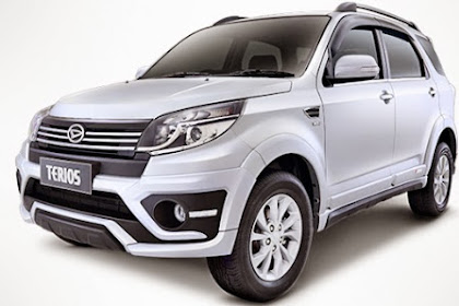Harga kredit Daihatsu New Terios Oktober 2015