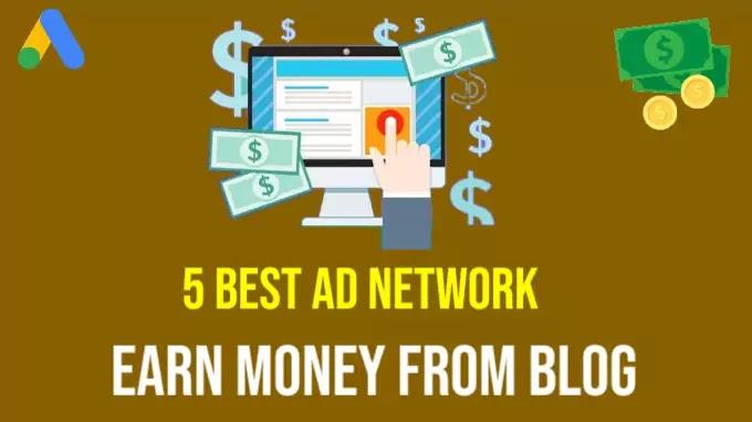 Top 5 Best Advertising Programs to Make Money from Websites/Blog