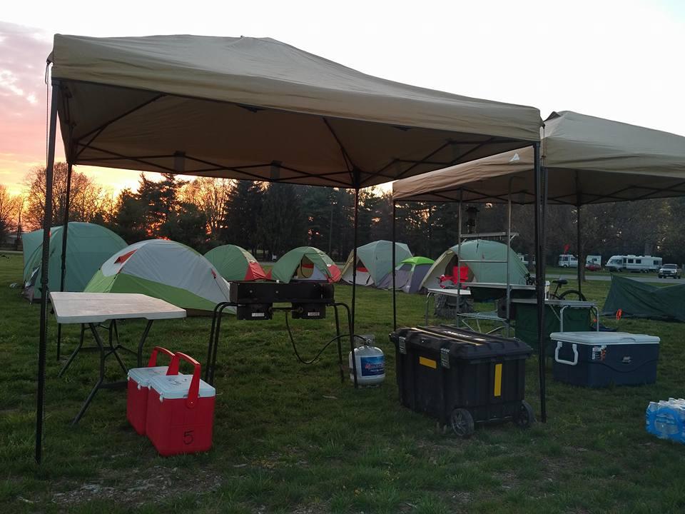 Tent Camping Addict - AF Baker: New Scout Campout - April ...