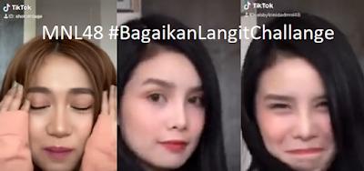 "Take a look at MNL48 Abby and Sheki TikTok ""Bagaikan Langit Challenge"""