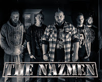 Quand Erik Blanc rencontre The Nazmen...; nazmen; erik blanc; i'm bad; love is not for me; bird; agony; song for the hopeless; groupe; métal; rock; hard rock; trash; collaboration; clip; realisation; bdocube; bedeocube; blog; article