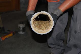 Desatranques de tuberías en Zaragoza