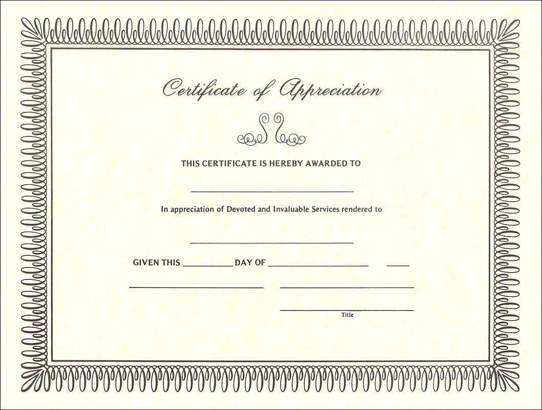 Certificate of appreciation template for volunteers apa templates certificate of appreciation template for volunteers xflitez Gallery
