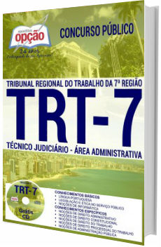 Apostila concurso TRT 7ª região 2017 - Técnico Judiciário