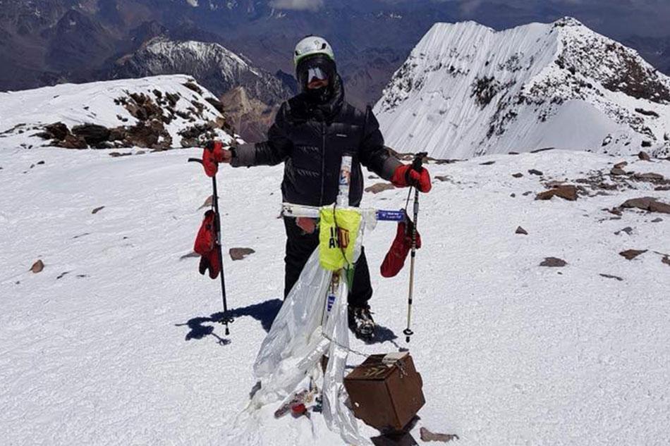Carina Dayondon makes history as the first Filipina to climb the 'Seven Summits'