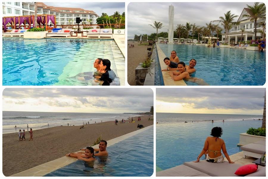 Kolam Renang Tepi Pantai Bali
