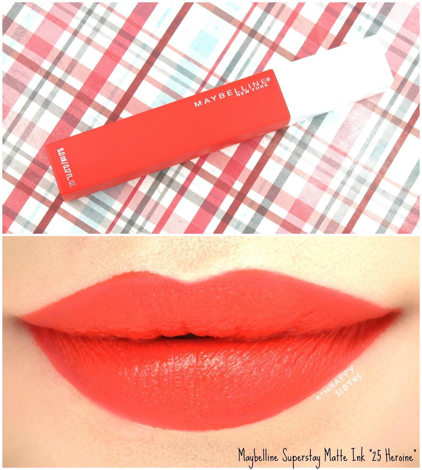 Longest Wearing Liquid Lipsticks Maybelline Superstay