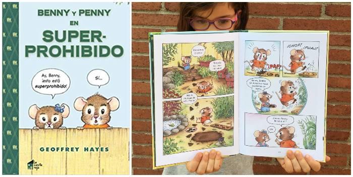 Cómic infantil Penny y Benny en Superprohibido