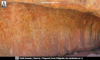 Rock arts, Uluru