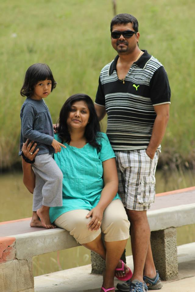 Shalini family