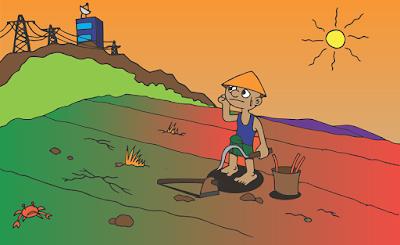 Moral Stories in Hindi - एक किसान और उसकी पत्नी - नैतिक कहानियाँ हिंदी में