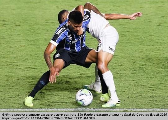 www.seuguara.com.br/Grêmio/São Paulo/Copa do Brasil 2020/