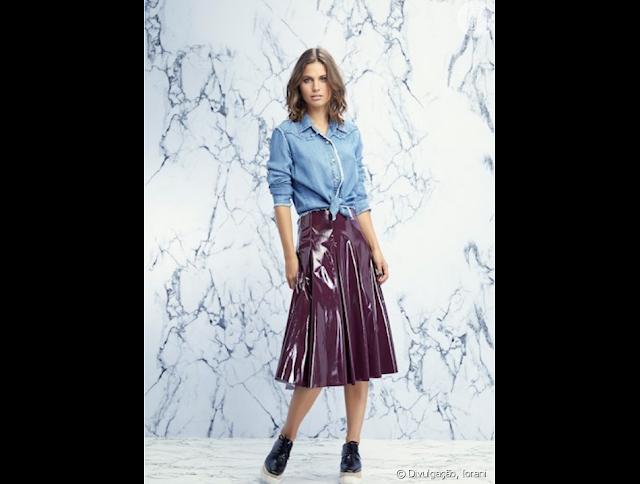 ab1c153c7 Estilosas e Fashionistas: Vinil Na Moda ( Fashionable Vinyl )