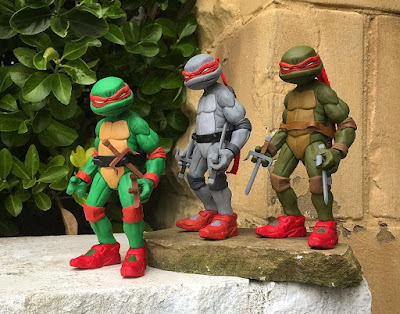 Teenage Mutant Ninja Turtles Raphael Resin Figure by WheresChappell
